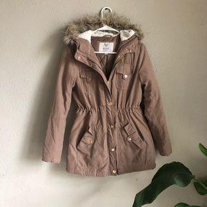 Tan Guess coat